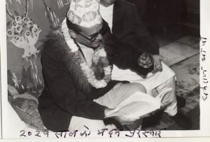 २०२५ सालको मदन पुरस्कारद्वारा सम्मानित 'मङ्गली कुसुम'का स्रस्टा श्री धर्मराज थापा