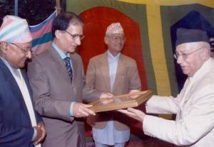 २०६० सालको मदन पुरस्कारद्वारा सम्मानित 'नयाँ ईश्वरको घोषणा'का स्रस्टा श्री गोपाल पराजुली